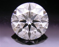 0.538 ct F SI1 A CUT ABOVE® Hearts and Arrows Super Ideal Round Cut Loose Diamond