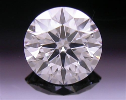 0.505 ct F SI2 A CUT ABOVE® Hearts and Arrows Super Ideal Round Cut Loose Diamond