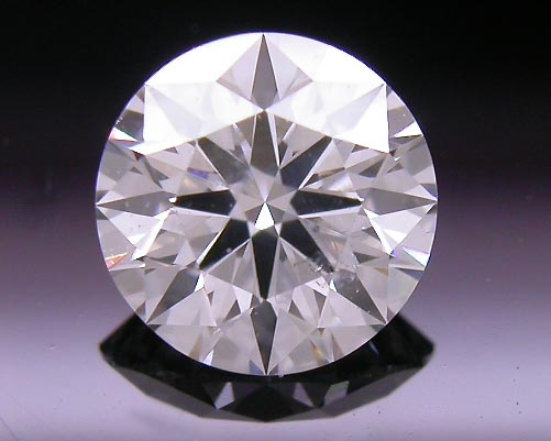 0.501 ct F SI2 A CUT ABOVE® Hearts and Arrows Super Ideal Round Cut Loose Diamond