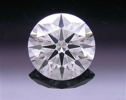 0.308 ct F VVS1 A CUT ABOVE® Hearts and Arrows Super Ideal Round Cut Loose Diamond