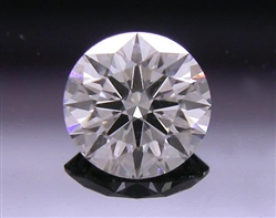 0.307 ct F SI1 A CUT ABOVE® Hearts and Arrows Super Ideal Round Cut Loose Diamond