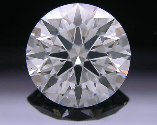 1.603 ct F SI1 A CUT ABOVE® Hearts and Arrows Super Ideal Round Cut Loose Diamond