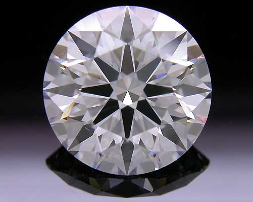 2.16 ct F VS2 A CUT ABOVE® Hearts and Arrows Super Ideal Round Cut Loose Diamond
