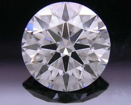 1.276 ct D SI1 A CUT ABOVE® Hearts and Arrows Super Ideal Round Cut Loose Diamond