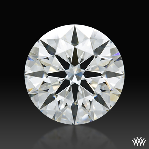 1.187 ct G VS2 A CUT ABOVE® Hearts and Arrows Super Ideal Round Cut Loose Diamond