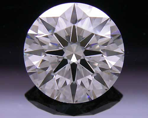 1.265 ct G SI1 A CUT ABOVE® Hearts and Arrows Super Ideal Round Cut Loose Diamond