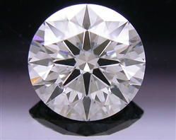 0.818 ct F SI1 A CUT ABOVE® Hearts and Arrows Super Ideal Round Cut Loose Diamond