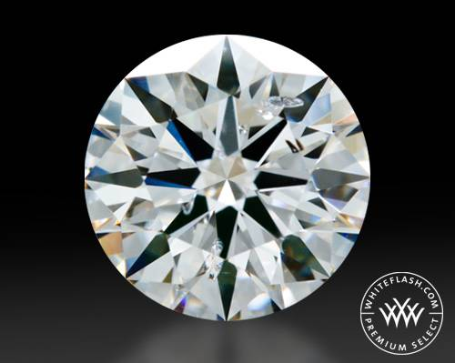1.66 ct D SI2 Premium Select Round Cut Loose Diamond