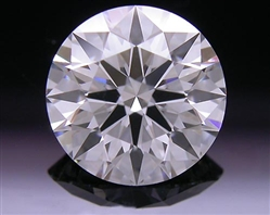 1.21 ct F SI1 A CUT ABOVE® Hearts and Arrows Super Ideal Round Cut Loose Diamond