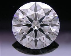 1.11 ct F SI1 A CUT ABOVE® Hearts and Arrows Super Ideal Round Cut Loose Diamond