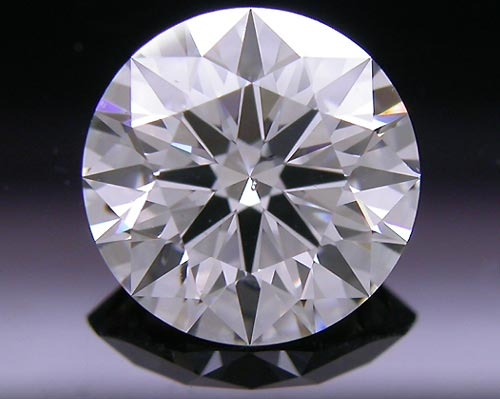 1.01 ct F SI2 A CUT ABOVE® Hearts and Arrows Super Ideal Round Cut Loose Diamond