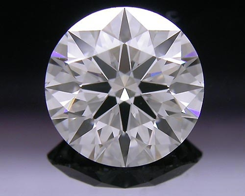 1.071 ct H VS1 A CUT ABOVE® Hearts and Arrows Super Ideal Round Cut Loose Diamond