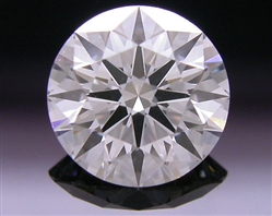 0.704 ct F SI1 A CUT ABOVE® Hearts and Arrows Super Ideal Round Cut Loose Diamond