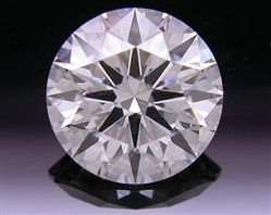 0.857 ct H SI2 A CUT ABOVE® Hearts and Arrows Super Ideal Round Cut Loose Diamond