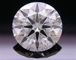 2.13 ct J SI2 A CUT ABOVE® Hearts and Arrows Super Ideal Round Cut Loose Diamond