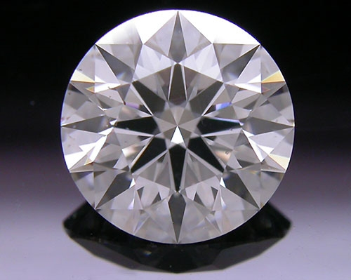1.295 ct H SI1 A CUT ABOVE® Hearts and Arrows Super Ideal Round Cut Loose Diamond