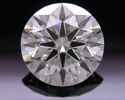 1.546 ct H SI1 A CUT ABOVE® Hearts and Arrows Super Ideal Round Cut Loose Diamond