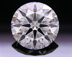 2.124 ct H VS1 A CUT ABOVE® Hearts and Arrows Super Ideal Round Cut Loose Diamond