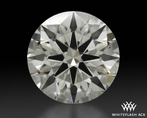 2.52 ct J VS1 A CUT ABOVE® Hearts and Arrows Super Ideal Round Cut Loose Diamond