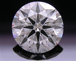 1.537 ct H VS1 A CUT ABOVE® Hearts and Arrows Super Ideal Round Cut Loose Diamond