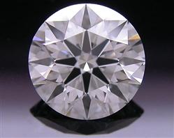 0.808 ct E SI1 A CUT ABOVE® Hearts and Arrows Super Ideal Round Cut Loose Diamond