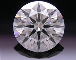 0.776 ct E SI1 A CUT ABOVE® Hearts and Arrows Super Ideal Round Cut Loose Diamond