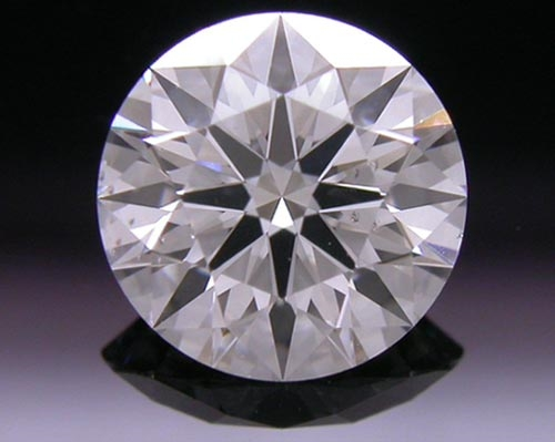 0.753 ct F SI2 A CUT ABOVE® Hearts and Arrows Super Ideal Round Cut Loose Diamond