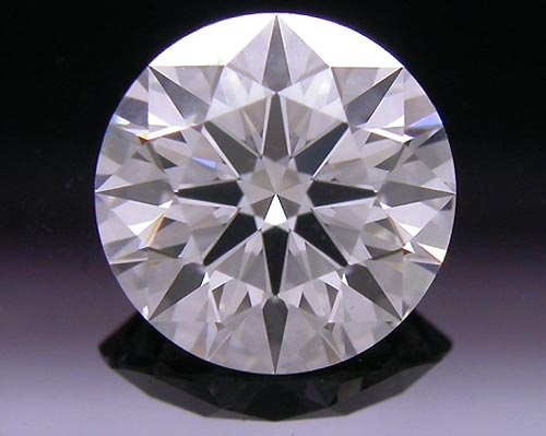 0.747 ct F SI1 A CUT ABOVE® Hearts and Arrows Super Ideal Round Cut Loose Diamond