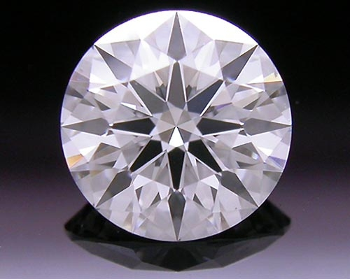 0.546 ct D VS2 A CUT ABOVE® Hearts and Arrows Super Ideal Round Cut Loose Diamond