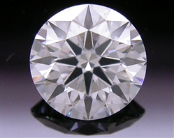 0.567 ct D SI1 A CUT ABOVE® Hearts and Arrows Super Ideal Round Cut Loose Diamond