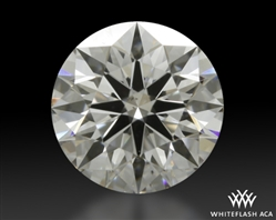0.527 ct E SI1 A CUT ABOVE® Hearts and Arrows Super Ideal Round Cut Loose Diamond