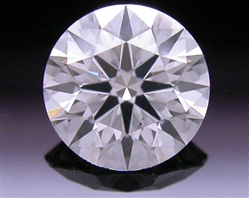 0.506 ct E SI1 A CUT ABOVE® Hearts and Arrows Super Ideal Round Cut Loose Diamond