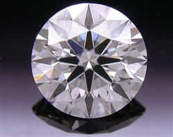0.516 ct F SI1 A CUT ABOVE® Hearts and Arrows Super Ideal Round Cut Loose Diamond