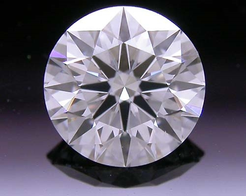 0.504 ct G SI1 A CUT ABOVE® Hearts and Arrows Super Ideal Round Cut Loose Diamond