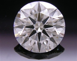 0.654 ct H SI2 A CUT ABOVE® Hearts and Arrows Super Ideal Round Cut Loose Diamond