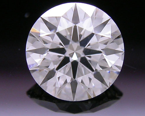 0.54 ct H SI1 A CUT ABOVE® Hearts and Arrows Super Ideal Round Cut Loose Diamond