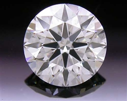0.493 ct I SI1 A CUT ABOVE® Hearts and Arrows Super Ideal Round Cut Loose Diamond