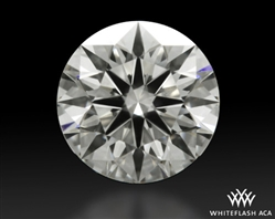 0.528 ct J VVS2 A CUT ABOVE® Hearts and Arrows Super Ideal Round Cut Loose Diamond