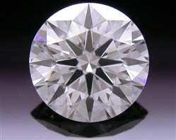 0.526 ct J VS2 A CUT ABOVE® Hearts and Arrows Super Ideal Round Cut Loose Diamond