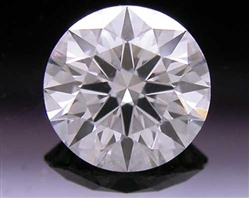 0.517 ct I SI1 A CUT ABOVE® Hearts and Arrows Super Ideal Round Cut Loose Diamond