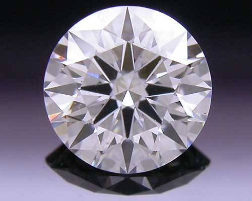 0.383 ct D SI2 A CUT ABOVE® Hearts and Arrows Super Ideal Round Cut Loose Diamond