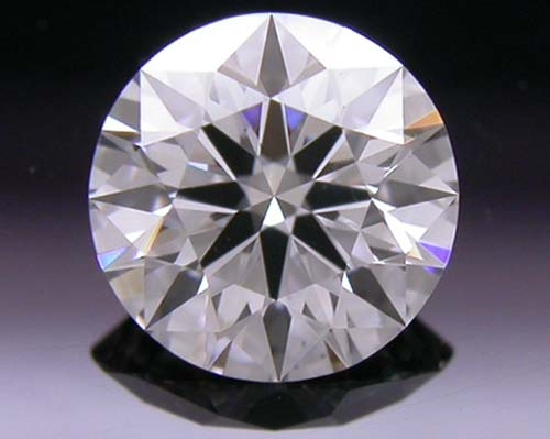 0.476 ct E VS2 A CUT ABOVE® Hearts and Arrows Super Ideal Round Cut Loose Diamond