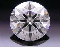 0.476 ct E VS2 A CUT ABOVE® Hearts and Arrows Super Ideal Round Cut Loose Diamond