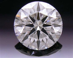 0.464 ct F SI1 A CUT ABOVE® Hearts and Arrows Super Ideal Round Cut Loose Diamond