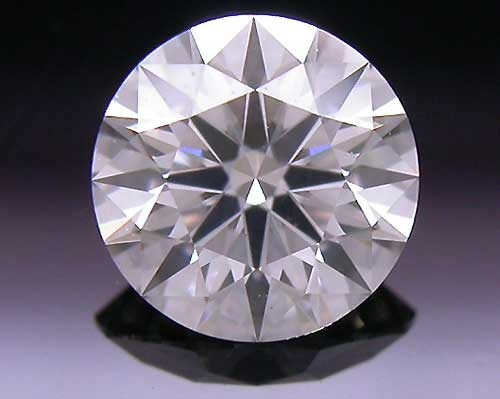 0.401 ct F SI2 A CUT ABOVE® Hearts and Arrows Super Ideal Round Cut Loose Diamond