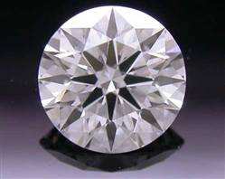 0.417 ct F SI1 A CUT ABOVE® Hearts and Arrows Super Ideal Round Cut Loose Diamond