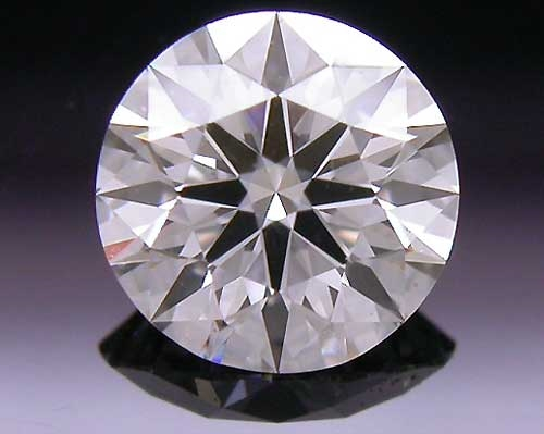 0.398 ct G SI1 A CUT ABOVE® Hearts and Arrows Super Ideal Round Cut Loose Diamond