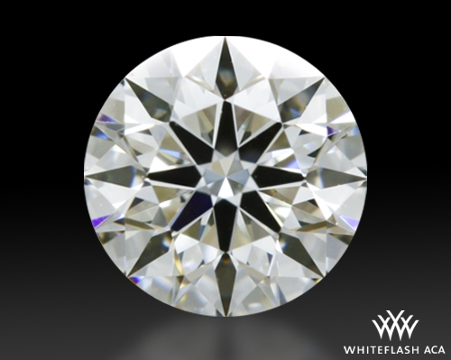 0.428 ct I VVS2 A CUT ABOVE® Hearts and Arrows Super Ideal Round Cut Loose Diamond