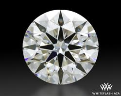 0.428 ct I VVS2 A CUT ABOVE® Hearts and Arrows Super Ideal Round Cut Loose Diamond