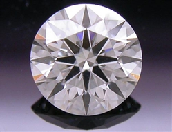 0.387 ct J VS2 A CUT ABOVE® Hearts and Arrows Super Ideal Round Cut Loose Diamond